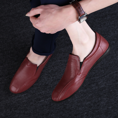 Men Fashion Leather Shoes Man Business Formal Shoes 650261
