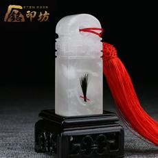 Детский локон в стекле Imprinted Fang