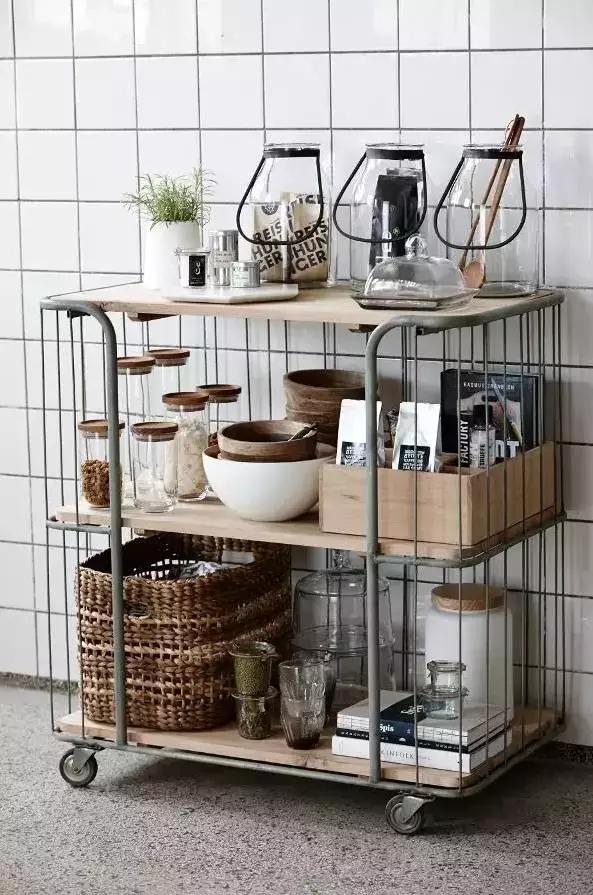 只要收纳做得好  厨房空间大10㎡
