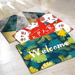 加厚防滑吸水地毯地垫40*60cm