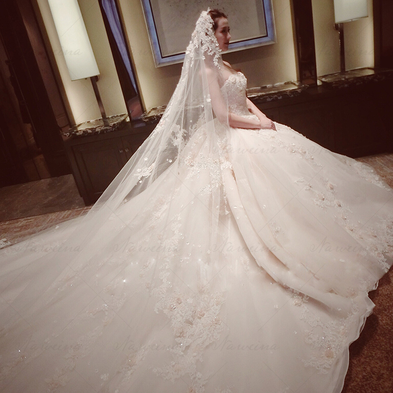 Wedding dress Naweina 2016hs005 2016