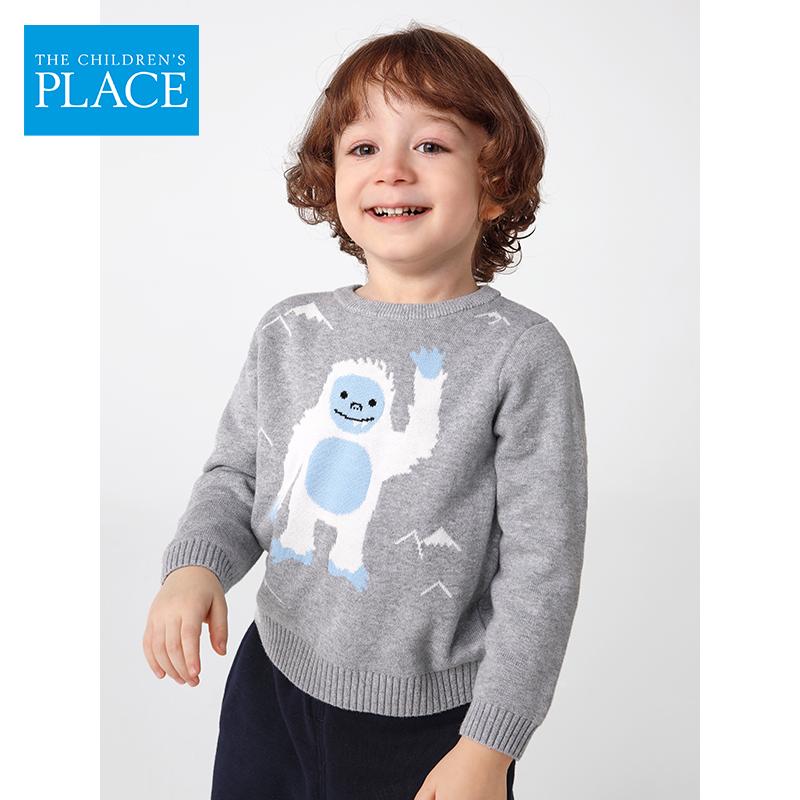 美国  The Children's Place 全棉 中小童加厚保暖毛衣针织衫 天猫优惠券折后¥69包邮(¥189-120)90~120码3色可选