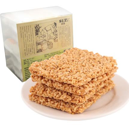速兹锅巴小米零食安徽特产香酥麻辣手工米香辣味散装糯米大米锅巴