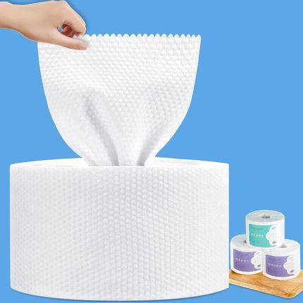洗脸巾女洁面巾纯棉一次性洗面纸擦脸美容无菌卸妆棉化妆棉卷筒式