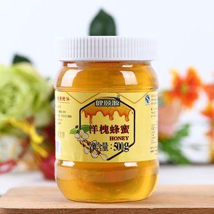 健颐源槐花蜜野生蜜土取蜂巢蜜纯净蜂蜜农家自产天然0添加500g