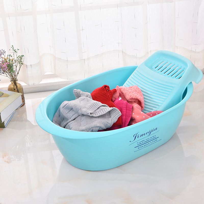 Large thick plastic baby basin children\'s small multi-purpose pet ...