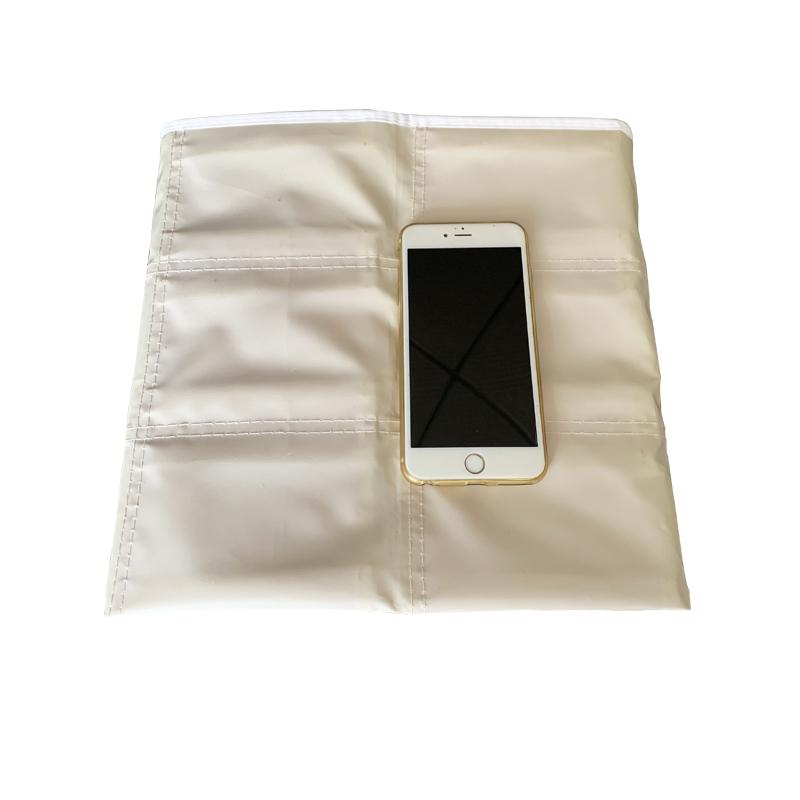 小学生儿童上学专用的便携可挂折叠透气布袋 幼儿园口罩收纳袋