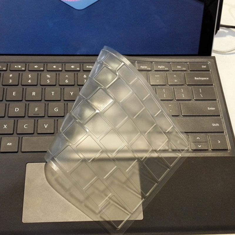 微软平板电脑Surface Pro4 pro5透明键盘膜laptop保护贴膜12.3寸book防尘全覆盖键盘贴防水
