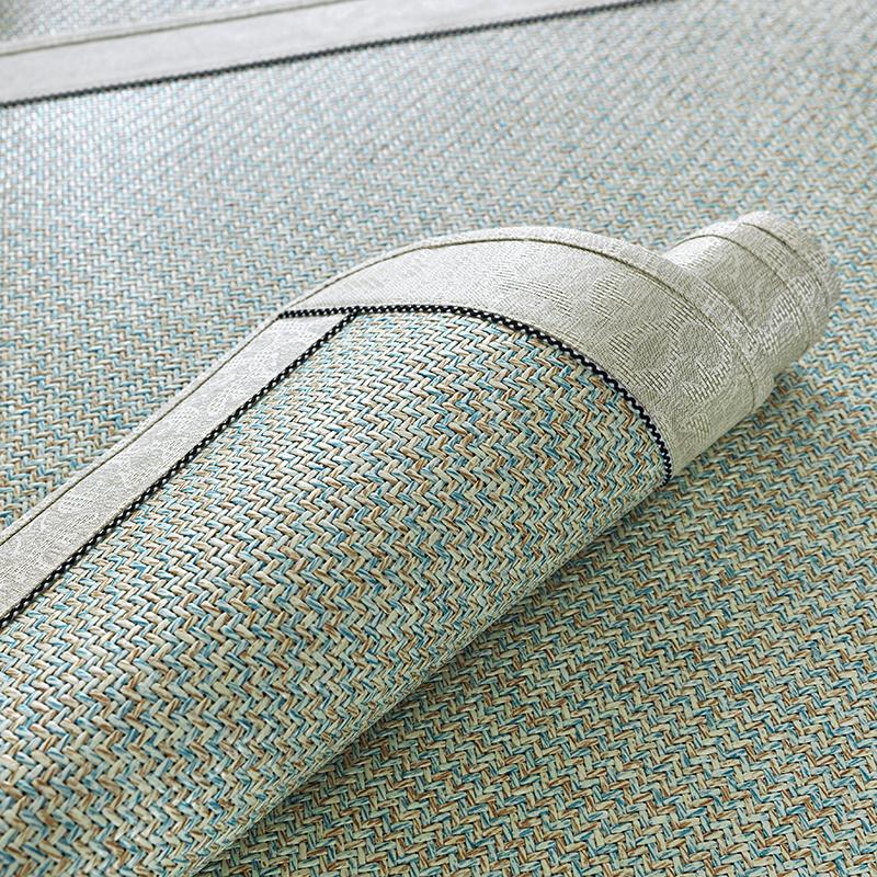 夏季沙发垫子欧式冰丝凉垫防滑凉席皮简约现代坐垫客厅沙发套定做