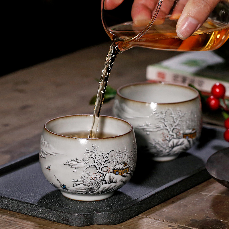 Jingdezhen your up with pure manual large ceramic cups masters cup open sample tea cup for its ehrs teacups hand - made home u.s