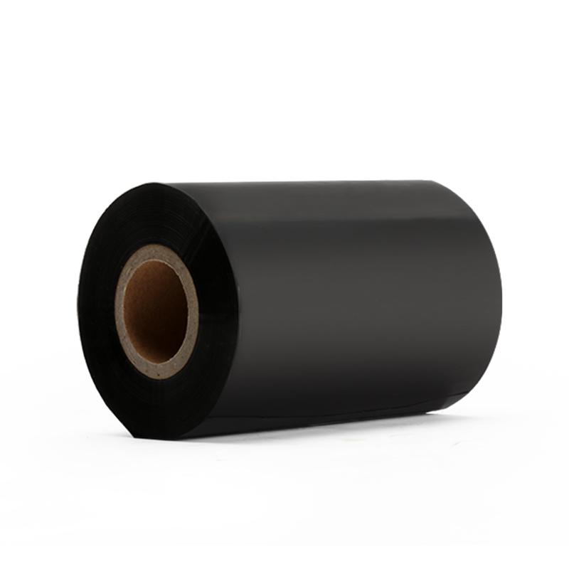 二维火蜡基碳带90mm*300m 配合超市标签纸条码打印机打印用