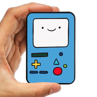 Blueqa/蓝强 西班牙充电宝10000毫安聚合物通用便携创意卡片小巧卡通移动电源