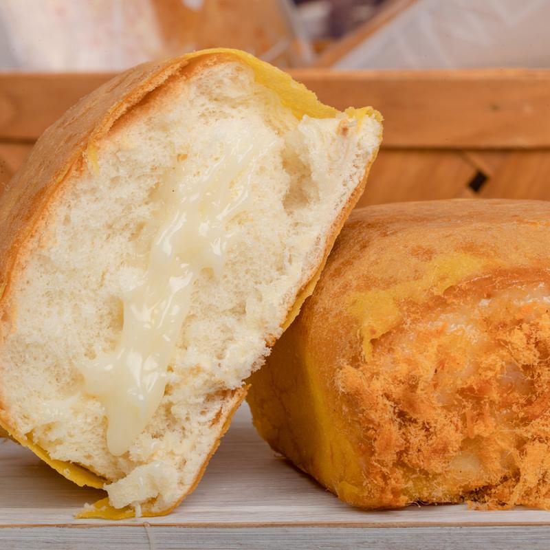 香飘友鸡蛋肉松味面包营养早餐奶酪爆浆夹心手撕蛋皮面包零食整箱