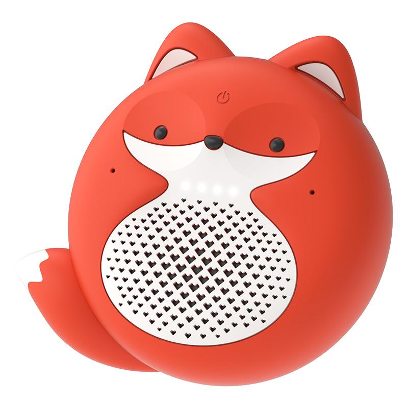 出门问问 小问音箱小狐狸儿童版 蓝牙语音智能音响Tickasa Fox