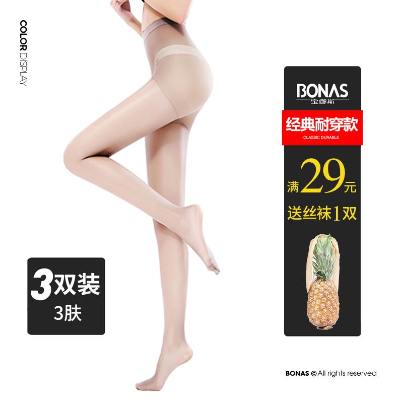 月銷25萬件,寶娜斯 DS1003-6 女士絲襪 3雙