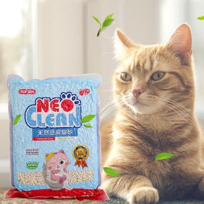 宠物NEO原味天然豆腐猫砂6L