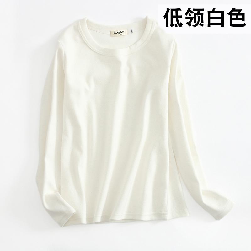 Основной цвет: Низкий шее белый