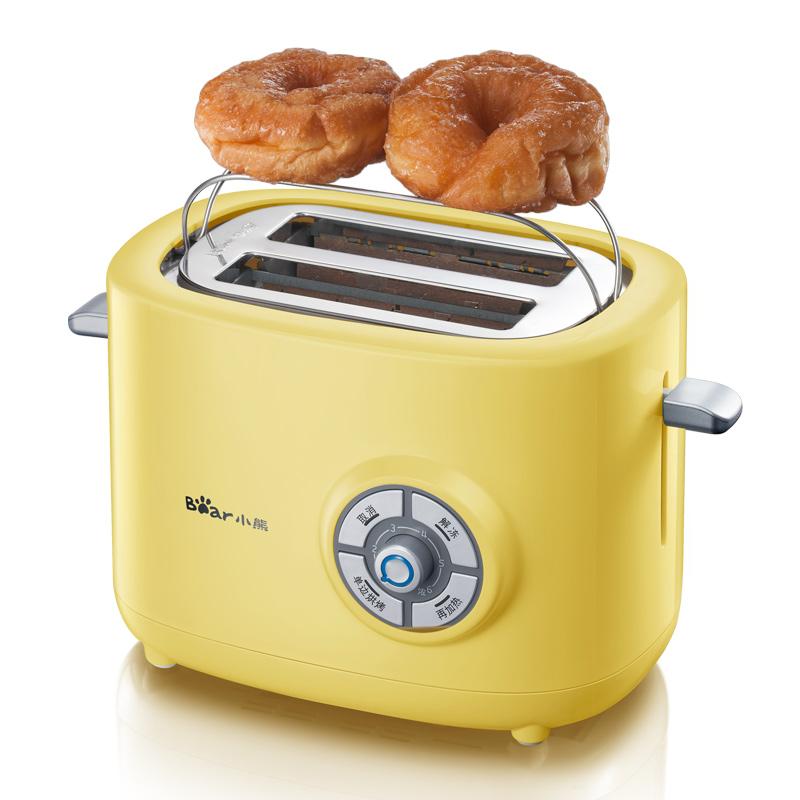 Bear-小熊 DSL-A02G1多士炉 土司机 早餐两片烤面包机 家用全自动