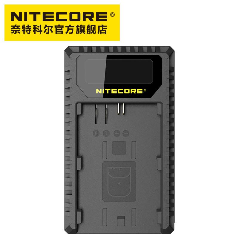 NITECORE奈特科尔UCN1佳能相机USB双槽充电器LP-E6-LP-E6N-LP-E8