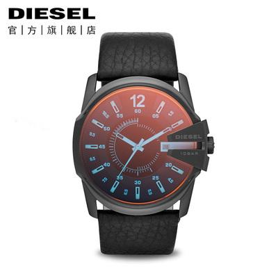 Diesel-迪赛手表 CHIEF军官系列 偏光镜面石英表 黑色风行 DZ1657