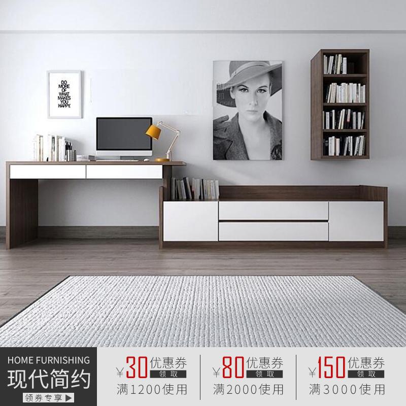 多功能梳妆台卧室迷你现代简约电视柜化妆台经济型电脑桌书桌组合