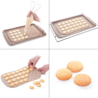 捷克tescoma 海绵小西饼模具 海绵饼干模具 硅胶模具烤箱家用