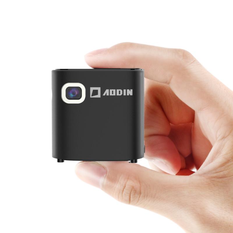澳典掌上迷你微型投影仪家用小型高清wifi无线手机苹果安卓智能便携式1080P4K 3D家庭影院投影机2018新款