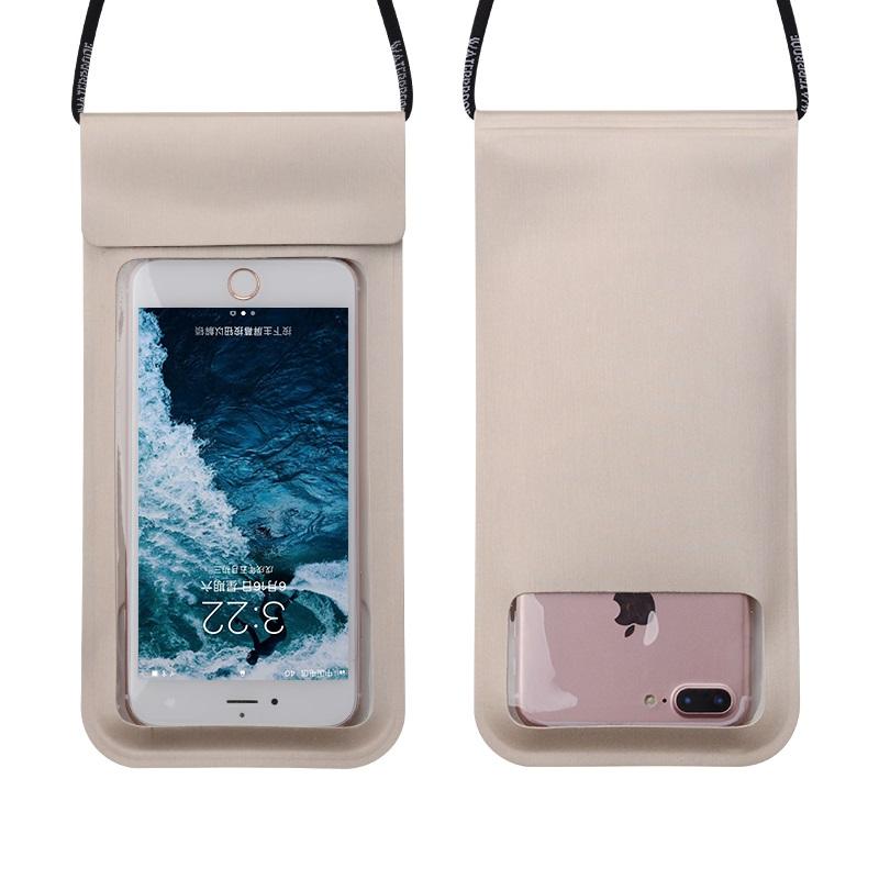 手机防水袋潜水套触屏漂流装备游泳手机保护套苹果华为vivo通用