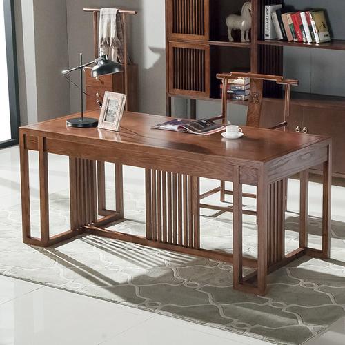 织然简爱系列·书桌中式书桌质量好不好?织然是什么牌子?图片
