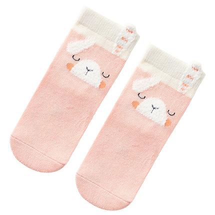 caramella 儿童袜子男女童中筒袜宝宝袜子婴儿袜子秋冬棉质地板袜