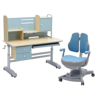 儿童学习桌小学生书桌实木课桌家用写字桌男女孩桌椅套装可升降