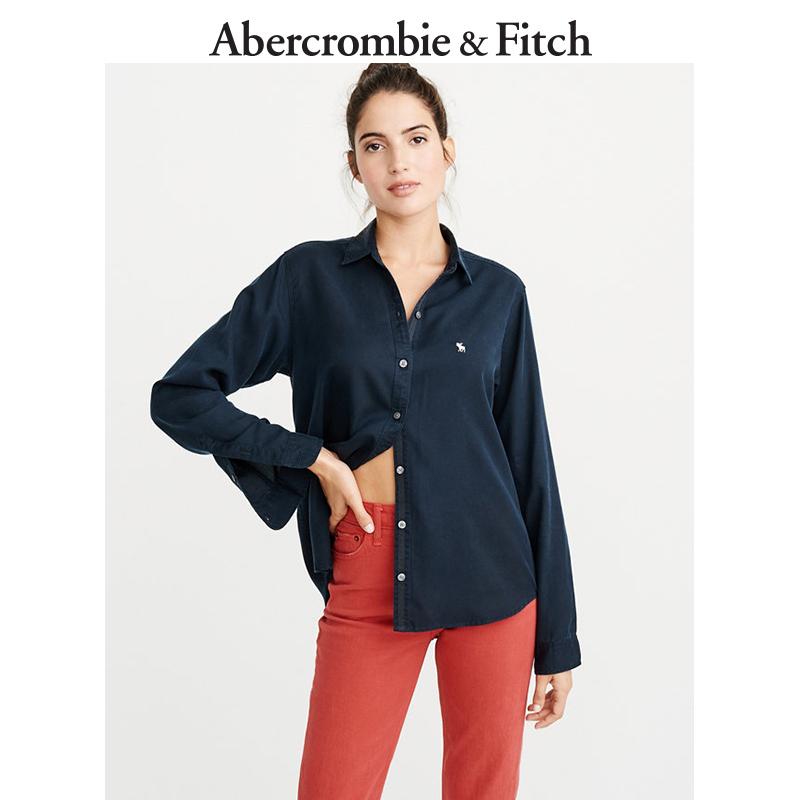 Abercrombie&Fitch女装 标识款牛津衬衫 221830-1 AF