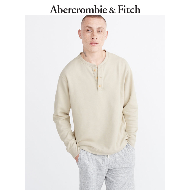 Quarter End Specials Abercrombie & Fitch Men's Casual Fleece Top 170489 AF