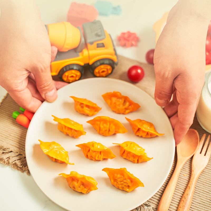 希杰必品阁bibigo王饺子2袋+饺皇2袋+儿童水饺2袋泡菜玉米猪肉