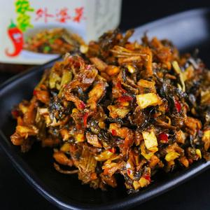 湖南特产湘西农家自制外婆菜下饭帅畅即食麻辣超辣梅干菜手工咸菜
