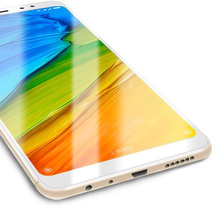 小米吧8标准8es 的游戏钢化膜红米note5A 5plus高配版5A原装5X note4X手机4A全面屏全透明全屏全覆盖贴膜八