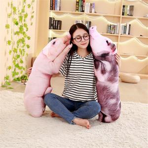 搞怪创意仿真母猪抱枕毛绒玩具女生娃娃靠枕小猪公仔生日礼物韩国