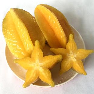 新品新鲜 热带 开胃水果杨桃 蜜桃五角非海南三亚台湾进口5斤包邮