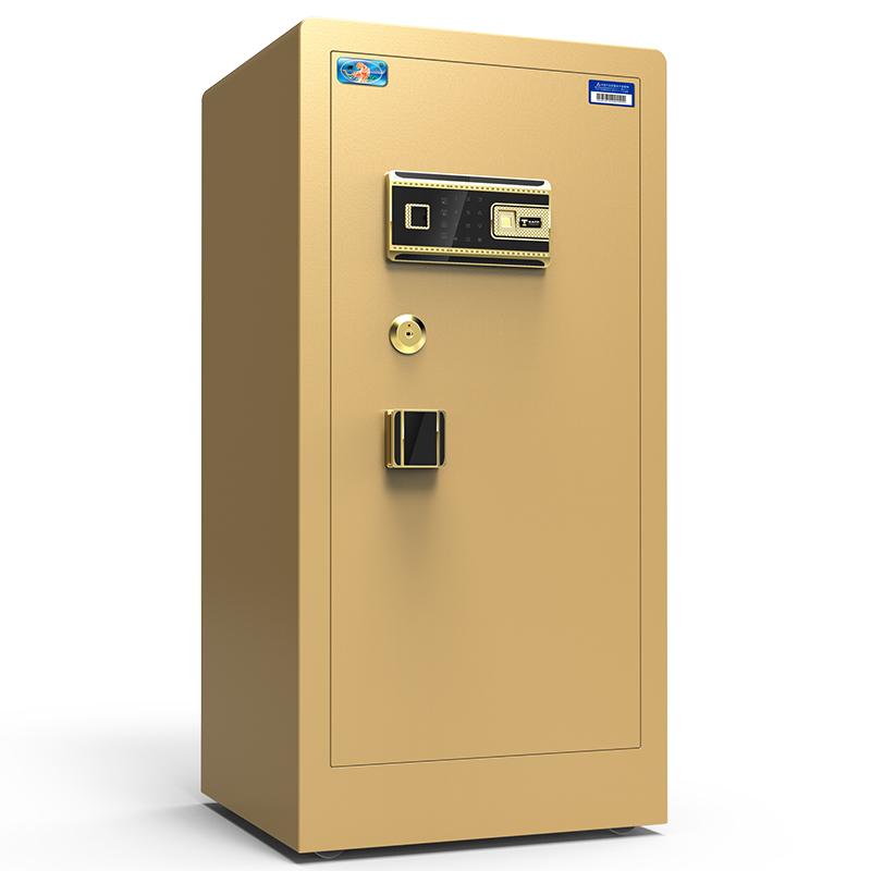 虎牌保险柜家用1米1.21.5米大型办公密码指纹保险箱全钢防盗入墙安全平门新品