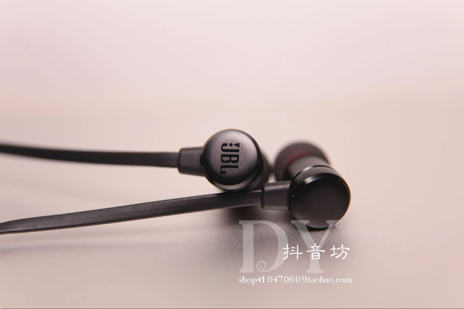 Jbl Original In Ear T280a T290 Subwoofer Mobile Phone Headset Noodle Earphone Gold Wire Remote Control