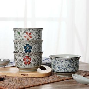 日式6/7寸面碗景德镇陶瓷餐具汤碗大号家用大碗泡面碗拉面碗单个