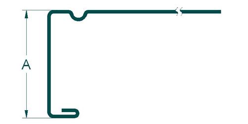 TDF共板法兰成型机的成型图