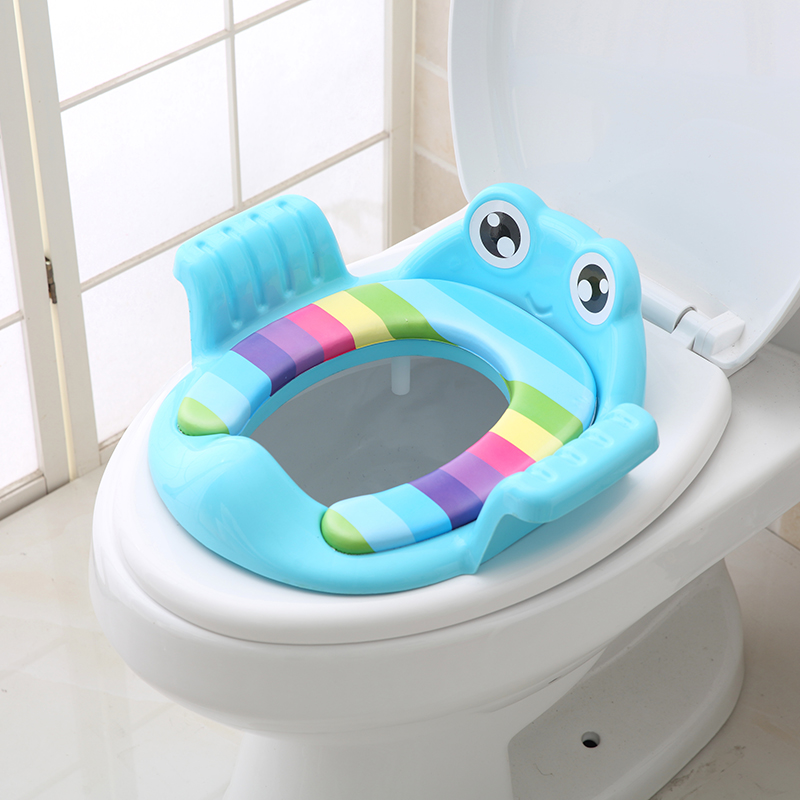 Increased number of children toilet toilet ring male baby girl boy sitting mat cover infant seat washer