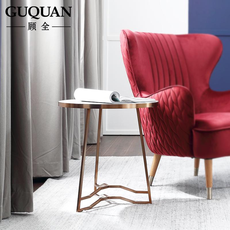 顾全北欧客厅创意小边几小户型卧室迷你桌子现代简约沙发边柜角柜