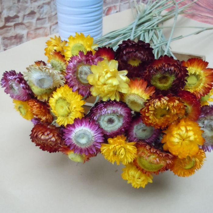 50 small daisy Yunnan natural dried flower bouquet home furnishings ...