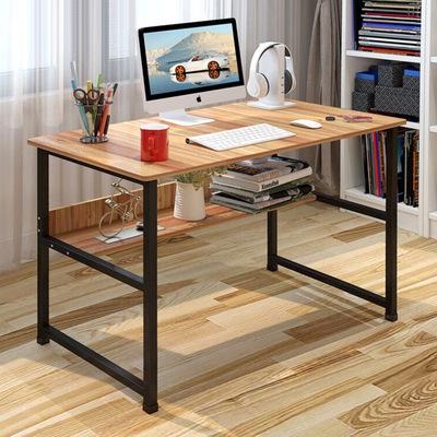 简约电脑桌台式家用经济型办公桌写字台简易学生书桌单人笔记本桌