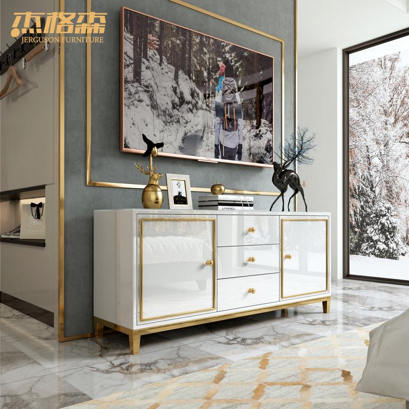 现代简约小户型卧室电视柜主卧房间电视机柜桌子轻奢后现代高款柜