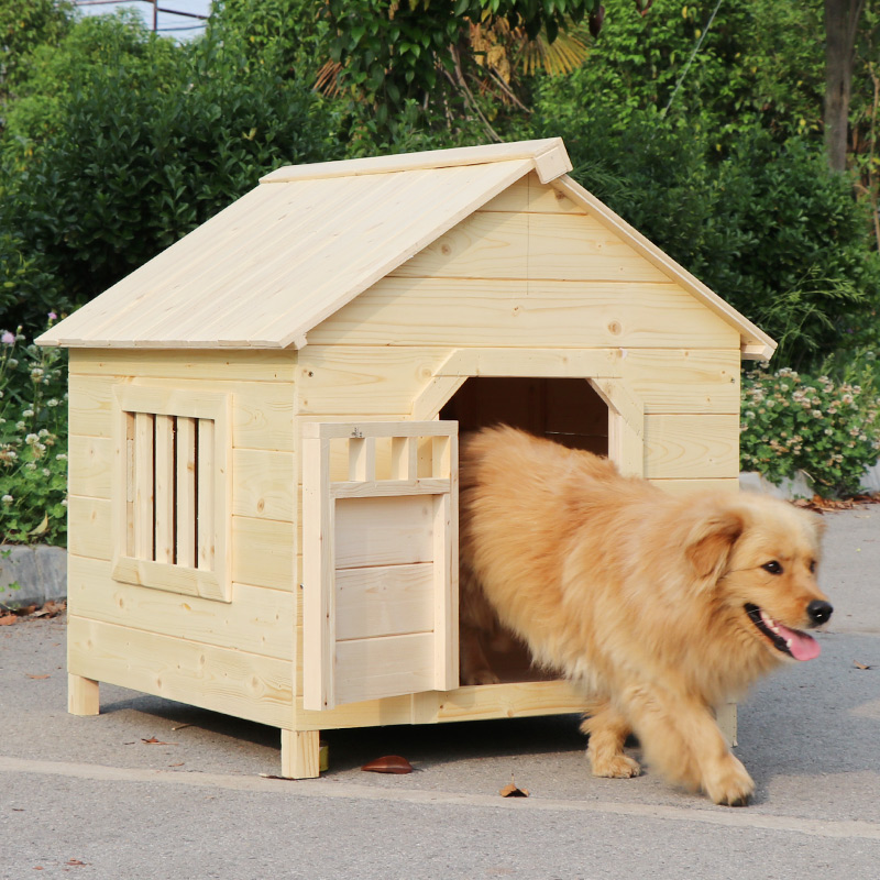 Usd 9714 Solid Wood Pet House Cat Dog House Inside And Outside Pet