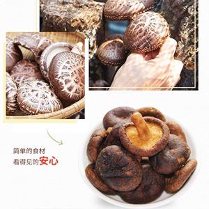 【企业店铺】桂林特产三姐情香菇干真空脱水香菇脆蘑菇干即食零食