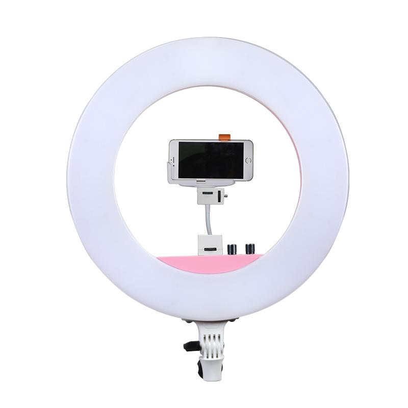 南冠LED 环形灯手机自拍照相摄影主播桌面直播补光美颜化妆摄像灯